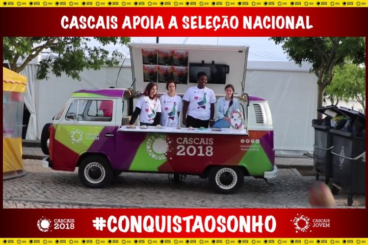 Embedded thumbnail for Cascais apoia a Seleção Nacional no Mundial da Rússia